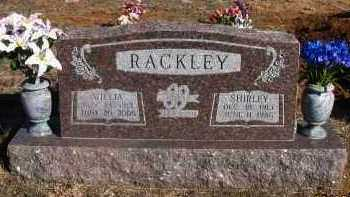 RACKLEY, WILLIA YARBER - Pope County, Arkansas | WILLIA YARBER RACKLEY - Arkansas Gravestone Photos