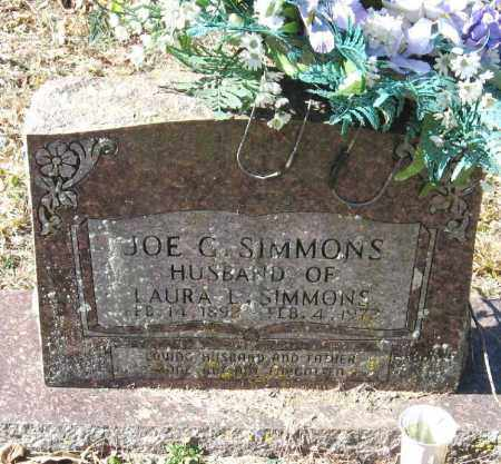 SIMMONS, JOE G - Pope County, Arkansas | JOE G SIMMONS - Arkansas Gravestone Photos