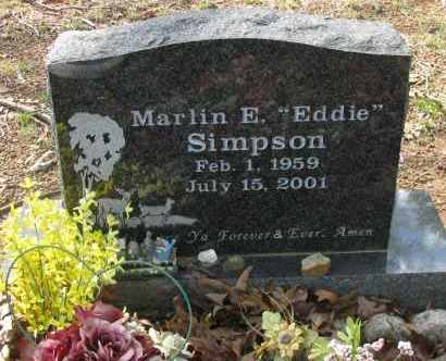 "SIMPSON, MARLIN E  ""EDDIE"" - Pope County, Arkansas 