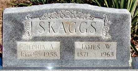 SKAGGS, ZILPHIA A - Pope County, Arkansas | ZILPHIA A SKAGGS - Arkansas Gravestone Photos