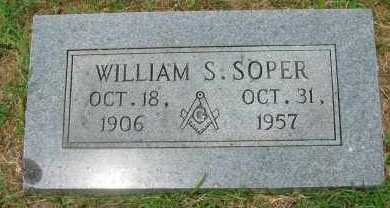 SOPER, WILLIAM S - Pope County, Arkansas | WILLIAM S SOPER - Arkansas Gravestone Photos