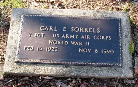 SORRELS  (VETERAN WWII), CARL E - Pope County, Arkansas | CARL E SORRELS  (VETERAN WWII) - Arkansas Gravestone Photos