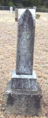 SOSBEE, J  M - Pope County, Arkansas | J  M SOSBEE - Arkansas Gravestone Photos