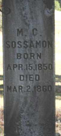 SOSSAMON, MATILDA C - Pope County, Arkansas | MATILDA C SOSSAMON - Arkansas Gravestone Photos