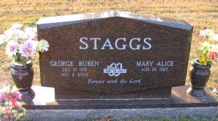 STAGGS, GEORGE RUBEN - Pope County, Arkansas | GEORGE RUBEN STAGGS - Arkansas Gravestone Photos