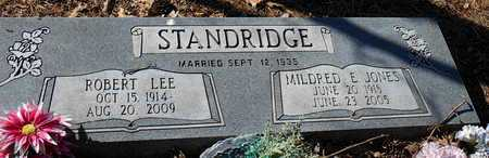 JONES STANDRIDGE, MILDRED E - Pope County, Arkansas | MILDRED E JONES STANDRIDGE - Arkansas Gravestone Photos