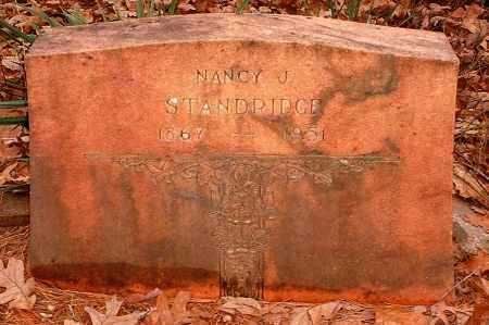 STANDRIDGE, NANCY J - Pope County, Arkansas | NANCY J STANDRIDGE - Arkansas Gravestone Photos