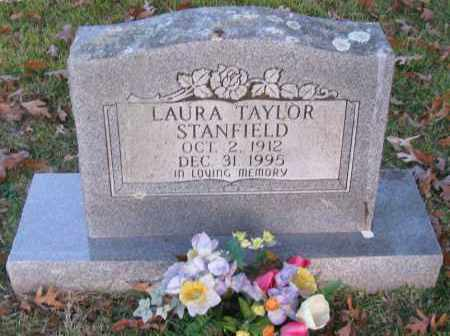 TAYLOR STANFIELD, LAURA - Pope County, Arkansas | LAURA TAYLOR STANFIELD - Arkansas Gravestone Photos