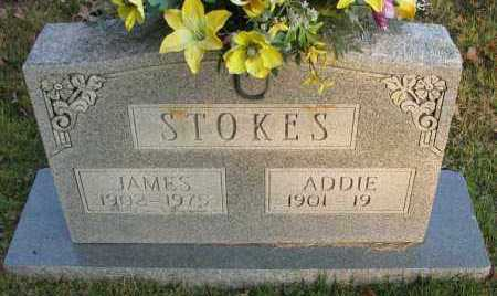 STOKES, JAMES - Pope County, Arkansas | JAMES STOKES - Arkansas Gravestone Photos