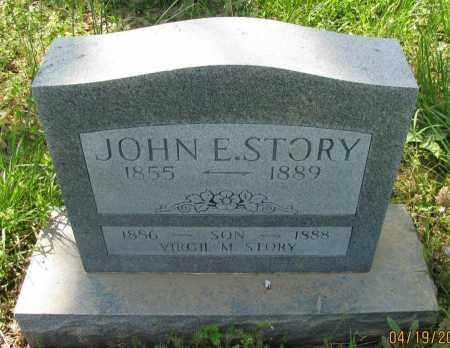 STORY, JOHN E - Pope County, Arkansas | JOHN E STORY - Arkansas Gravestone Photos