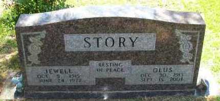 STORY, JEWELL - Pope County, Arkansas | JEWELL STORY - Arkansas Gravestone Photos
