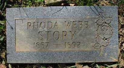 STORY, RHODA - Pope County, Arkansas | RHODA STORY - Arkansas Gravestone Photos