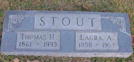 STOUT, THOMAS H - Pope County, Arkansas | THOMAS H STOUT - Arkansas Gravestone Photos