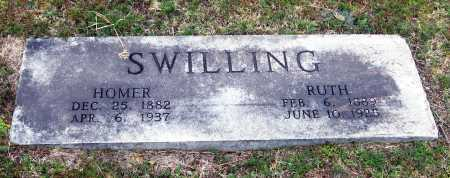 SWILLING, HOMER - Pope County, Arkansas | HOMER SWILLING - Arkansas Gravestone Photos