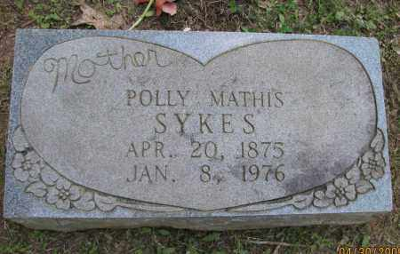SYKES, POLLY - Pope County, Arkansas | POLLY SYKES - Arkansas Gravestone Photos