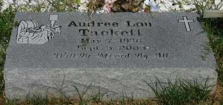 TACKETT, AUDREE LOU - Pope County, Arkansas | AUDREE LOU TACKETT - Arkansas Gravestone Photos