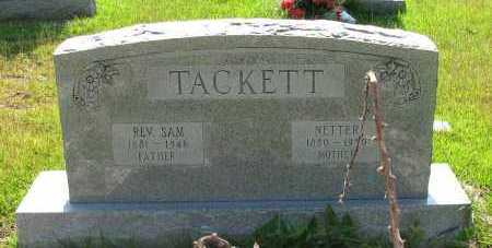 TACKETT, NETTER - Pope County, Arkansas | NETTER TACKETT - Arkansas Gravestone Photos