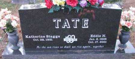 TATE, EDDIE N - Pope County, Arkansas | EDDIE N TATE - Arkansas Gravestone Photos
