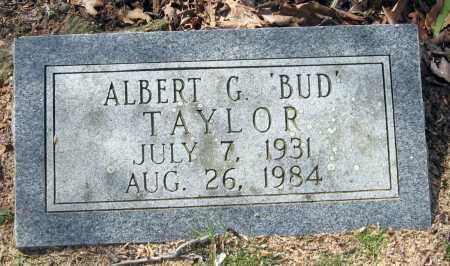 "TAYLOR, ALBERT G. ""BUD"" - Pope County, Arkansas | ALBERT G. ""BUD"" TAYLOR - Arkansas Gravestone Photos"