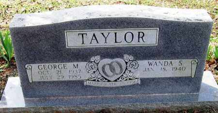 TAYLOR, GEORGE M - Pope County, Arkansas | GEORGE M TAYLOR - Arkansas Gravestone Photos