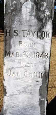 TAYLOR, H  S - Pope County, Arkansas | H  S TAYLOR - Arkansas Gravestone Photos