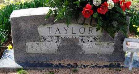 TAYLOR, JEWELL A - Pope County, Arkansas | JEWELL A TAYLOR - Arkansas Gravestone Photos