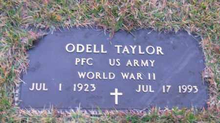 TAYLOR (VETERAN WWII), ODELL - Pope County, Arkansas | ODELL TAYLOR (VETERAN WWII) - Arkansas Gravestone Photos