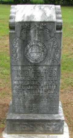 JACKSON TEETER, DORA - Pope County, Arkansas | DORA JACKSON TEETER - Arkansas Gravestone Photos