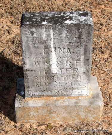 TEETER, EUNA - Pope County, Arkansas | EUNA TEETER - Arkansas Gravestone Photos
