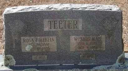 HEFLIN TEETER, ROSA F - Pope County, Arkansas | ROSA F HEFLIN TEETER - Arkansas Gravestone Photos