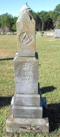 TEETER, WILLIAM A - Pope County, Arkansas | WILLIAM A TEETER - Arkansas Gravestone Photos