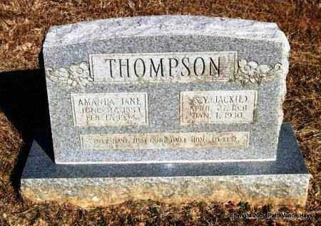 THOMPSON, SILAS YOUNG (JACKIE) - Pope County, Arkansas | SILAS YOUNG (JACKIE) THOMPSON - Arkansas Gravestone Photos