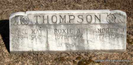 HARRIS THOMPSON, ROXIE A - Pope County, Arkansas | ROXIE A HARRIS THOMPSON - Arkansas Gravestone Photos
