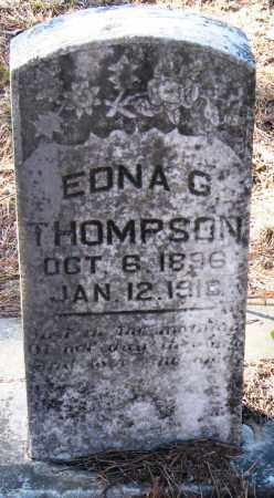 THOMPSON, EDNA G - Pope County, Arkansas | EDNA G THOMPSON - Arkansas Gravestone Photos