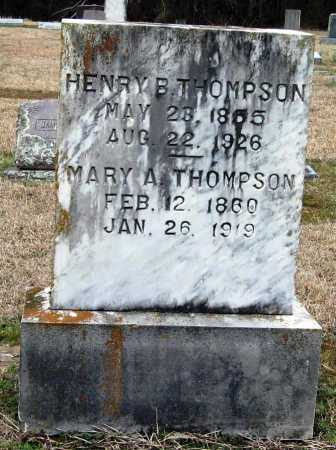 THOMPSON, HENRY B - Pope County, Arkansas | HENRY B THOMPSON - Arkansas Gravestone Photos