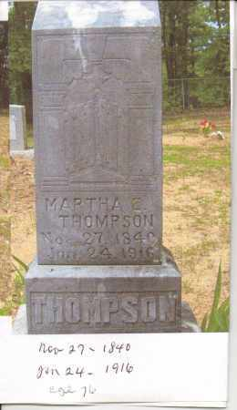 WALLACE THOMPSON, MARTHA E. - Pope County, Arkansas | MARTHA E. WALLACE THOMPSON - Arkansas Gravestone Photos
