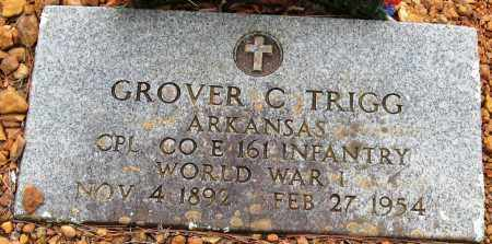 TRIGG  (VETERAN WWI), GROVER - Pope County, Arkansas | GROVER TRIGG  (VETERAN WWI) - Arkansas Gravestone Photos