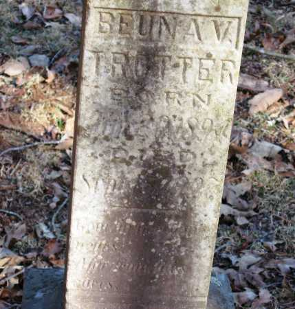TROTTER, BEUNA V - Pope County, Arkansas | BEUNA V TROTTER - Arkansas Gravestone Photos