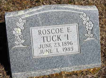 TUCK, ROSCOE E - Pope County, Arkansas | ROSCOE E TUCK - Arkansas Gravestone Photos