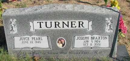 TURNER, JOSEPH BRAXTON - Pope County, Arkansas | JOSEPH BRAXTON TURNER - Arkansas Gravestone Photos