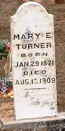 TURNER, MARY E - Pope County, Arkansas | MARY E TURNER - Arkansas Gravestone Photos