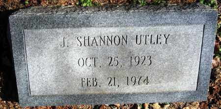 UTLEY, J. SHANNON - Pope County, Arkansas | J. SHANNON UTLEY - Arkansas Gravestone Photos