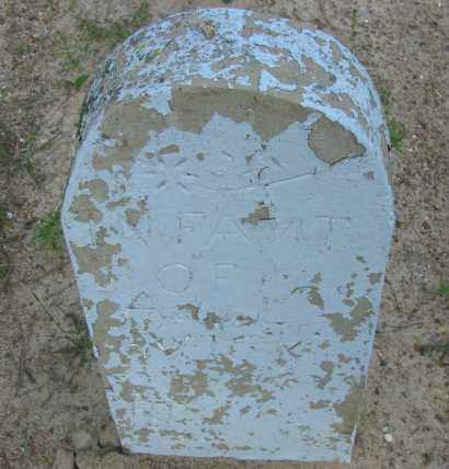 VICK, INFANT - Pope County, Arkansas | INFANT VICK - Arkansas Gravestone Photos