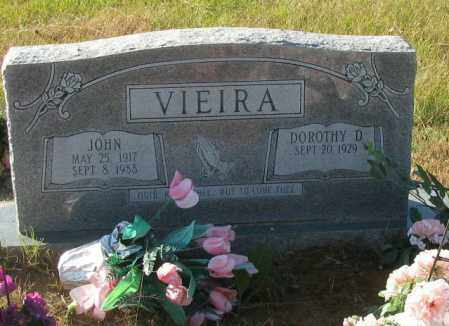 VIEIRA, JOHN - Pope County, Arkansas | JOHN VIEIRA - Arkansas Gravestone Photos
