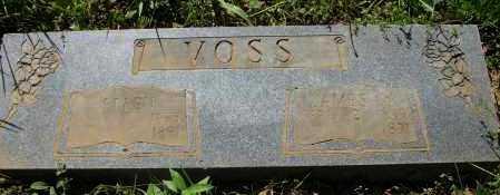VOSS, ELLEN - Pope County, Arkansas | ELLEN VOSS - Arkansas Gravestone Photos