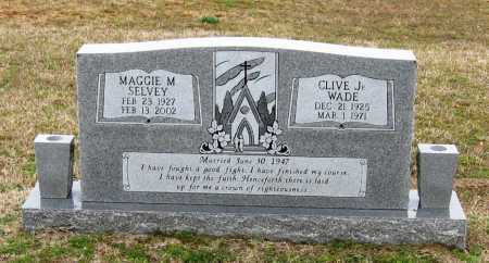 WADE, MAGGIE M. - Pope County, Arkansas | MAGGIE M. WADE - Arkansas Gravestone Photos
