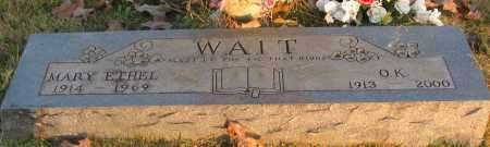 WAIT, O K - Pope County, Arkansas | O K WAIT - Arkansas Gravestone Photos