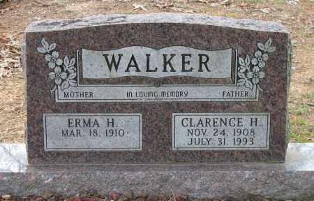 WALKER, CLARENCE H - Pope County, Arkansas | CLARENCE H WALKER - Arkansas Gravestone Photos