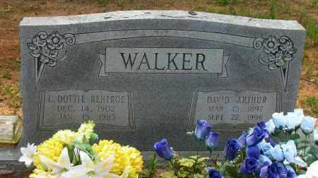 RENFROE WALKER, L. DOTTIE - Pope County, Arkansas | L. DOTTIE RENFROE WALKER - Arkansas Gravestone Photos