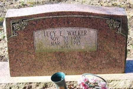 WALKER, LUCY E - Pope County, Arkansas | LUCY E WALKER - Arkansas Gravestone Photos